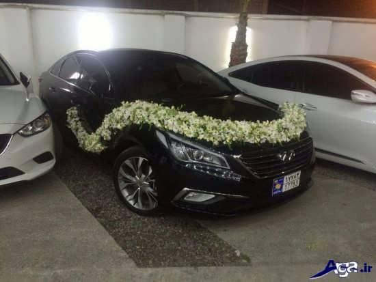 مدل تزیین ماشین عروس شاسی بلند