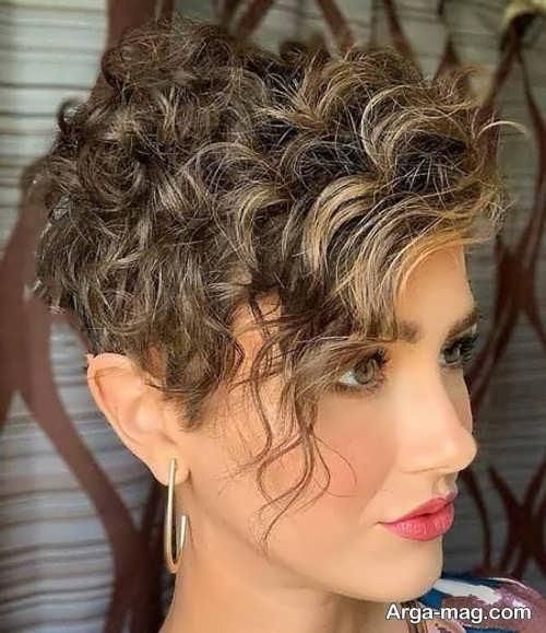 استایل مو فرفری مناسب برای خانم ها
