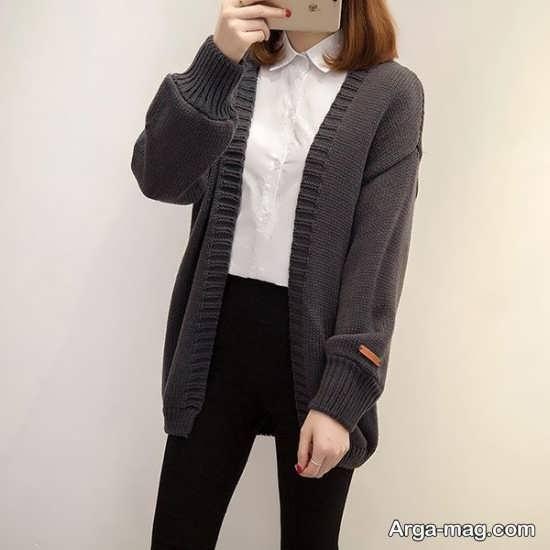تصاویری از ژاکت بافت زیبا