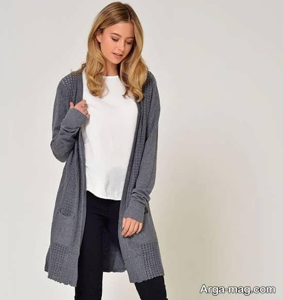 جدیدترین مدل ژاکت بافت زنانه