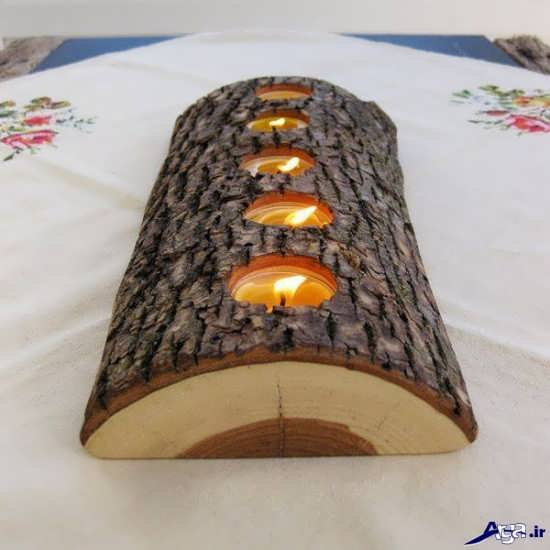 کار هنری با چوب