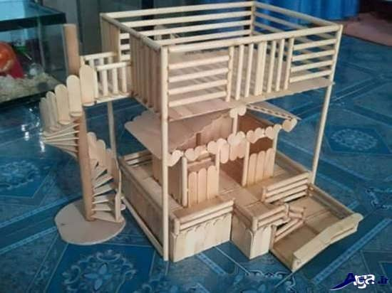 ساخت وسایل چوبی زیبا