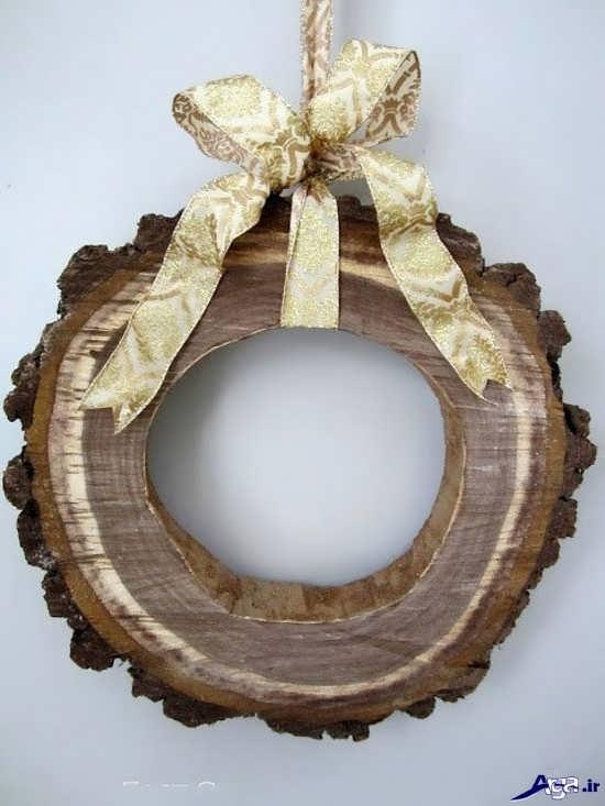 ساخت حلقه چوبی تزیینی