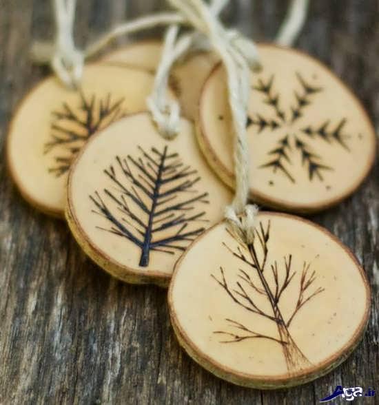 کاردستی با چوب درخت ساده