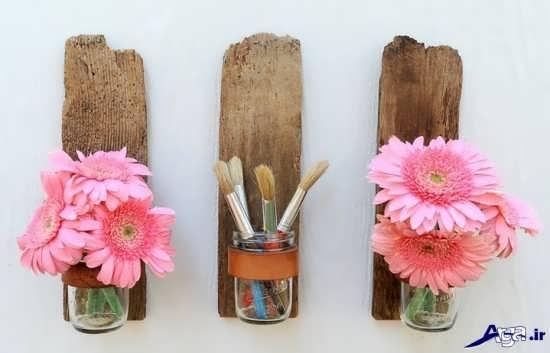 خلاقیت با چوب های ساده