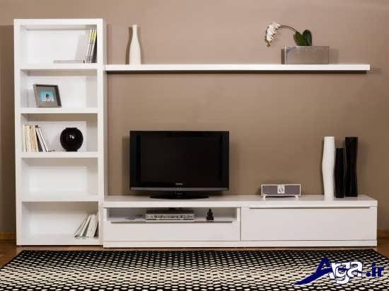 میز تلوزیون چوبی با طرح های زیبا و متنوع