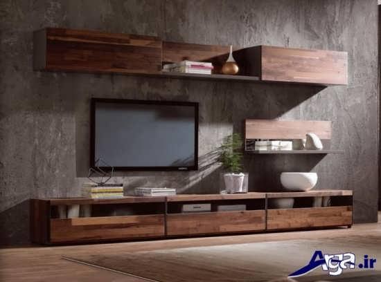 میز تلویزیون چوبی با طرح های متنوع و جذاب