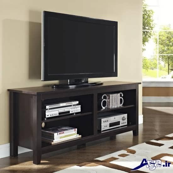 مدل های میز تلویزیون چوبی با طرح های زیبا و جذاب