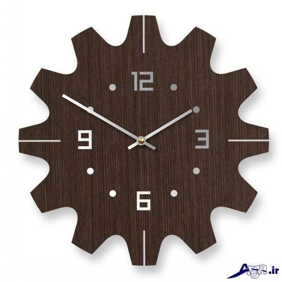 مدل ساعت دیواری چوبی