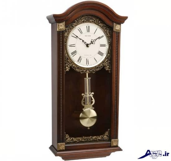 مدل ساعت دیواری کلاسیک چوبی