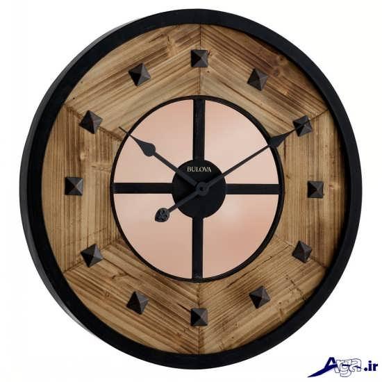 مدل ساعت دیواری های چوبی