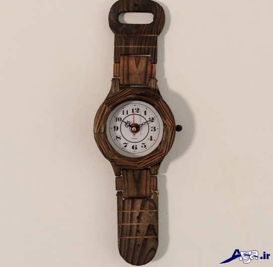 ساعت دیواری های چوبی