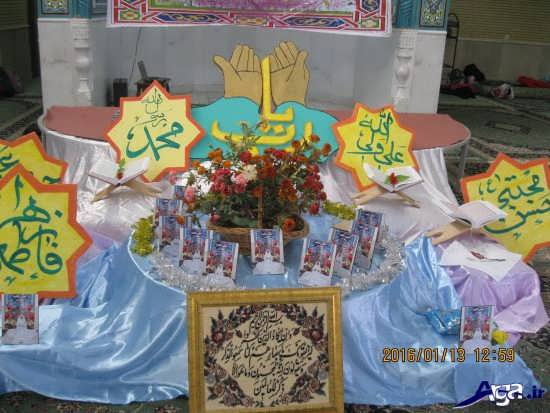 تزیین میز برای جشن تکلیف