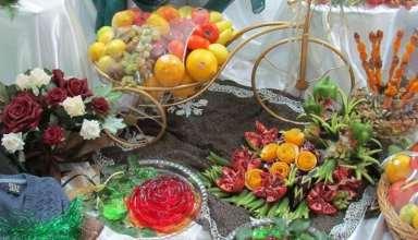 تزیینات شب یلدا عروس