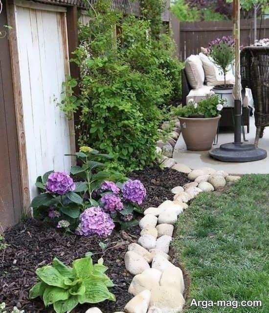 مدرن ترین طراحی باغچه حیاط