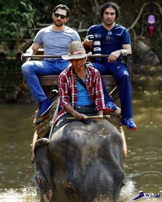 عکس جدید بهرام رادان در تایلند