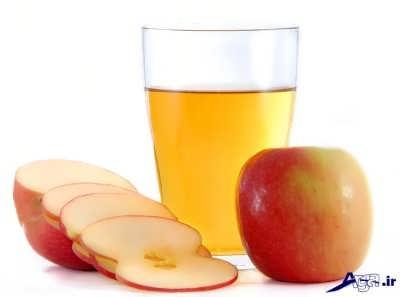 درمان ریزش مو با سرکه سیب