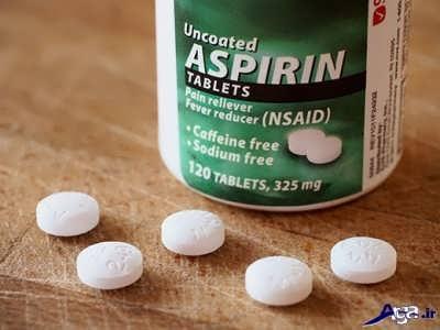 کاربرها و عوارض آسپرین