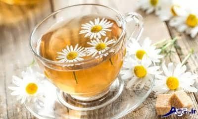 آشنایی با انواع خواص چای بابونه