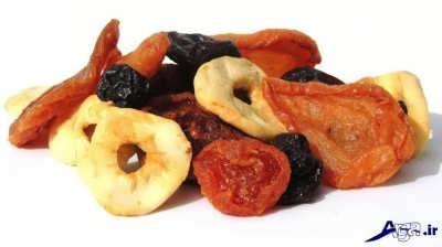 میوه های خشک و خواص آن ها