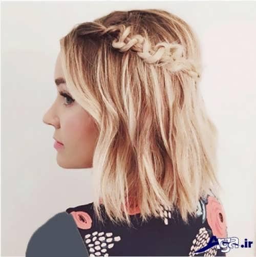 مدل بافت موهای زیبا و متفاوت
