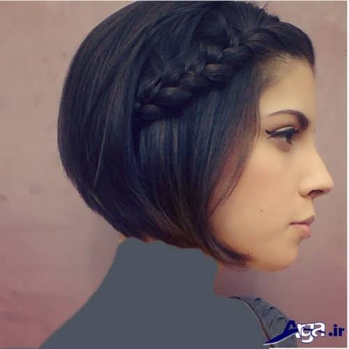 مدل بافت موی کوتاه و زیبا