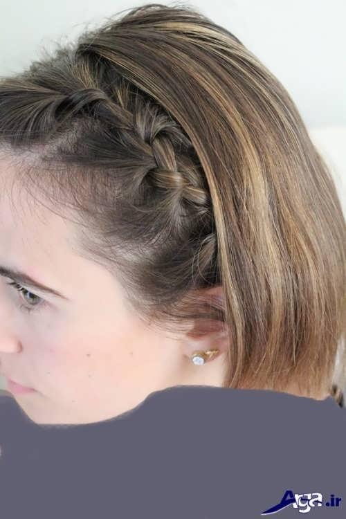 مدل بافت موی جلوی سر دخترانه و زیبا