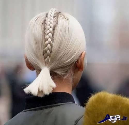 بافت موی کوتاه زنانه