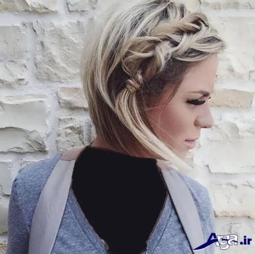 بافت مو زیبا و جذاب زنانه
