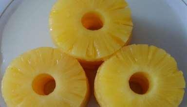 طرز تهیه کمپوت آناناس با ساده ترین روش