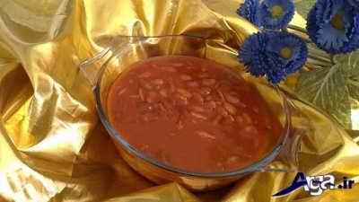 خوراک لوبیا قرمز خوشمزه و لذیذ