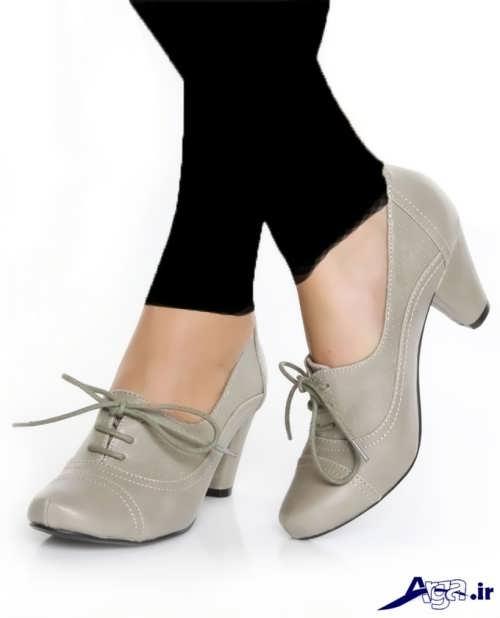 مدل های کفش پاشنه کوتاه