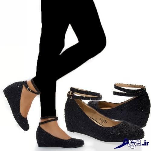 مدل های ساده و شیک کفش زنانه پاشنه کوتاه