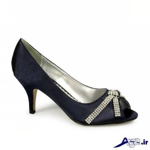 مدل کفش پاشنه کوتاه زیبا