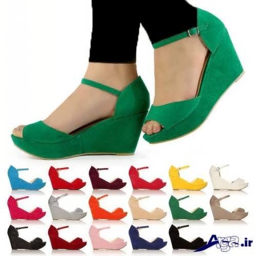 مدل های کفش دخترانه پاشنه کوتاه
