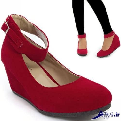 کفش دخترانه پاشنه کوتاه