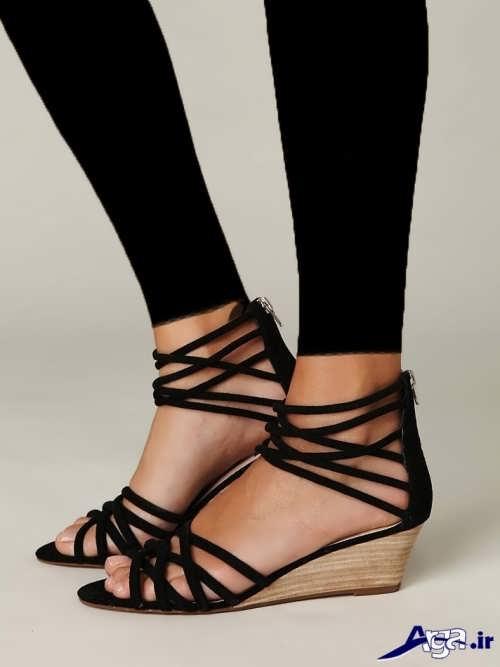 مدل کفش دخترانه پاشنه کوتاه