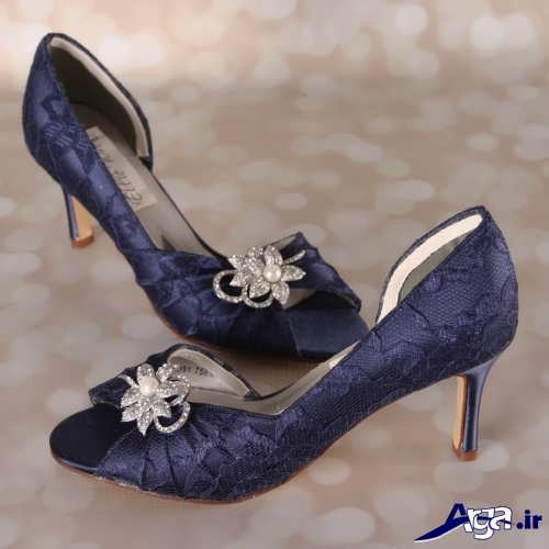 کفش مجلسی پاشنه کوتاه با طرح های شیک و جذاب