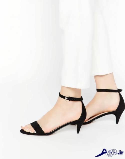 مدل کفش ساده و پاشنه کوتاه