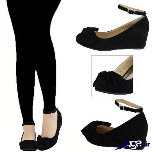 مدل های زیبا و شیک کفش پاشنه کوتاه