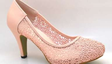 مدل کفش پاشنه کوتاه زنانه و دخترانه