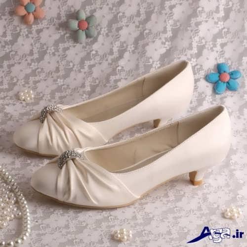 مدل های زیبا و جدید کفش زنانه پاشنه کوتاه