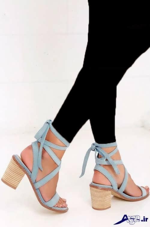 کفش تابستانی پاشنه کوتاه
