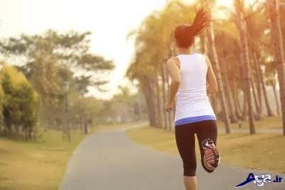 انجام حرکات ورزشی برای لاغری