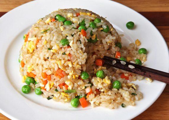 طرز تهیه پلو چینی غذایی خوشمزه