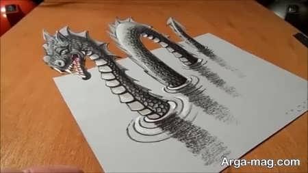 جذاب ترین آموزش نقاشی سه بعدی