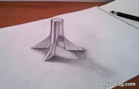نقاشی های دیدنی با طرح سه بعدی