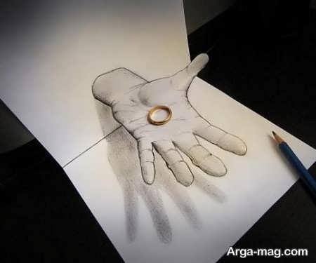 نقاشی های فوق العاده با طرح سه بعدی