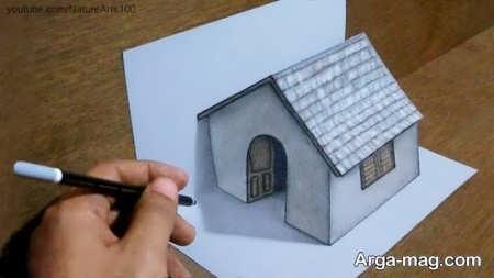 ساده ترین آموزش نقاشی سه بعدی