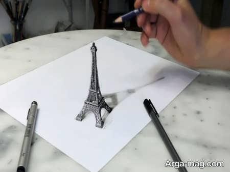 نقاشی سه بعدی با طرحی جدید